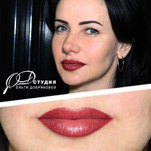 Перманентный макияж для увеличения губ