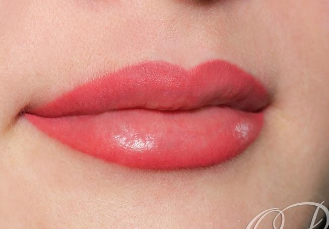 Татуаж губ с растушевкой в Санкт-Петербурге - фото