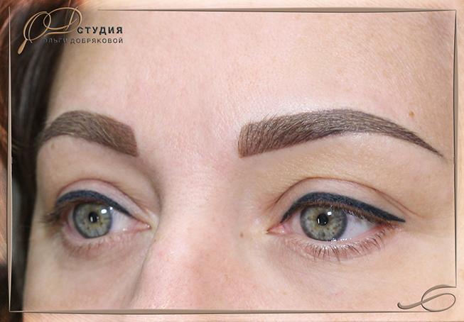Обновление перманентного макияжа в Санкт-Петербурге - фото