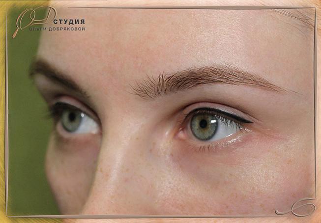 Перманентный макияж глаз - фото